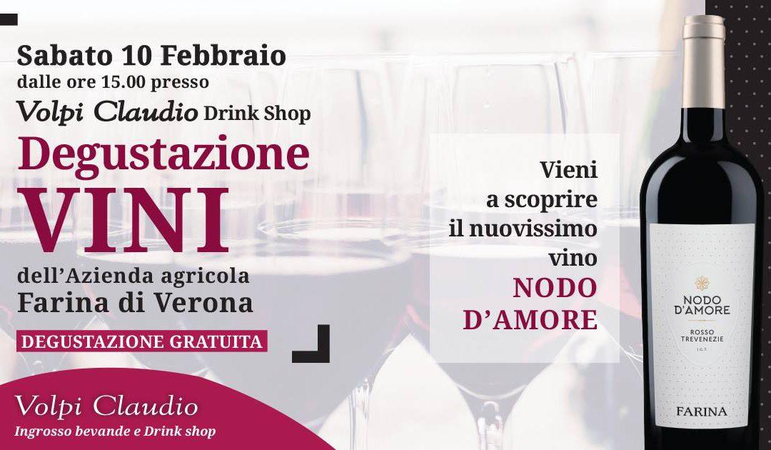 Degustazione gratuita vini – Presentazione Nodo d'Amore