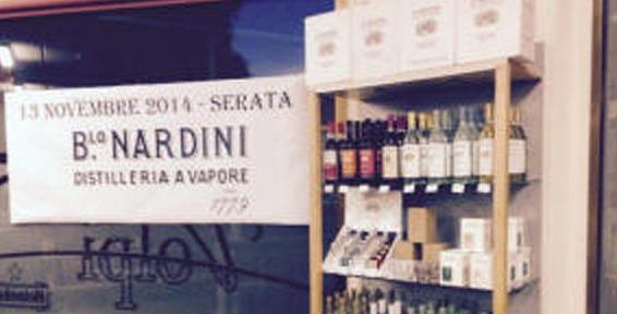 Serata degustazione NARDINI e MEDOLAGO-ALBANI