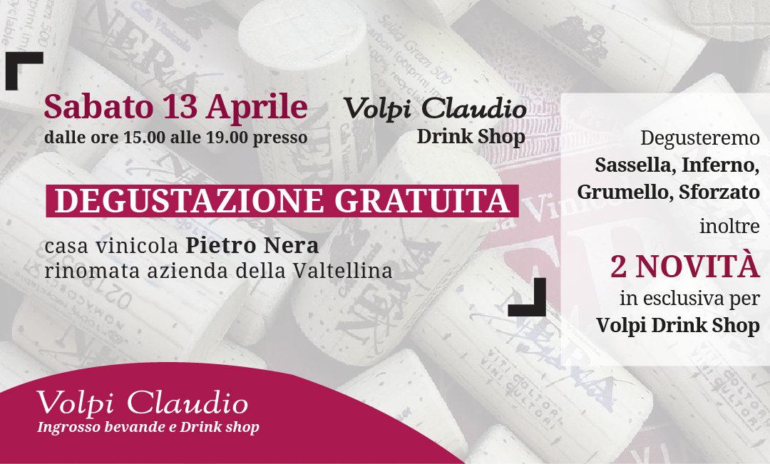 Degustazione gratuita vini Pietro Nera
