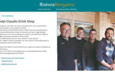 Da oggi puoi ordinare i nostri prodotti su RistoraBergamo